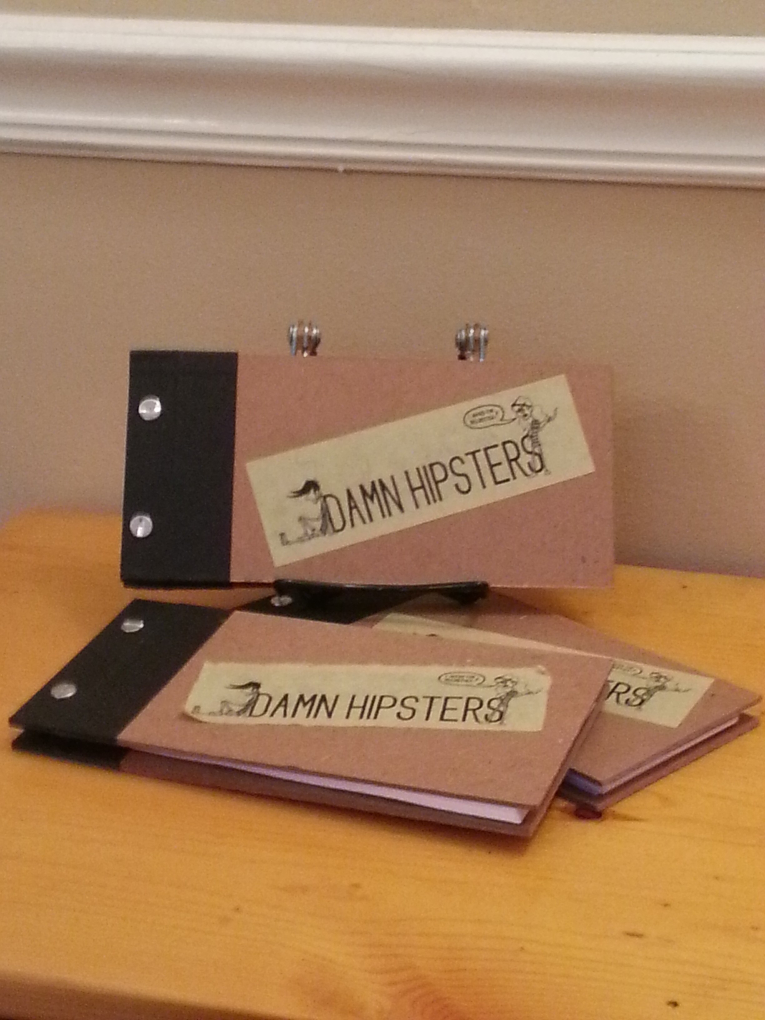 Damn Hipsters Hardcover